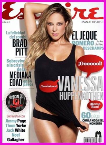 Vanessa Huppenkothen en Revista Esquire