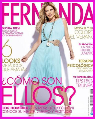 Gloria Trevi en Revista Fernanda