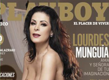 Lourdes Munguía se desnuda en Playboy