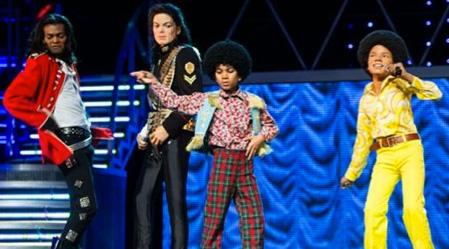 Figuras de cera de Michael Jackson