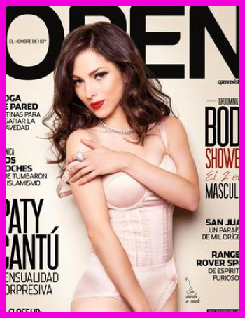 Paty Cantú en revista Open