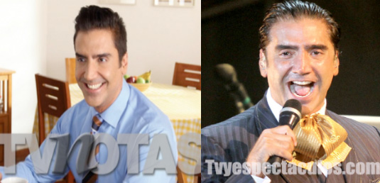Antes y después de la operación de rostro de Alejandro Fernández