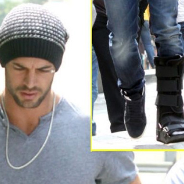 Sufre accidente William Levy en La Tempestad