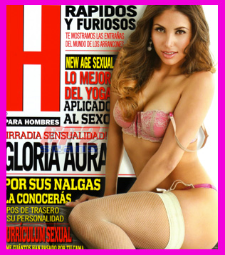 Gloria Aura en Revista H