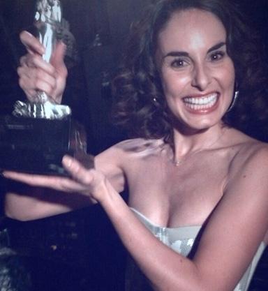 Ana Serradilla Ganadora Diosa de Plata mejor actriz