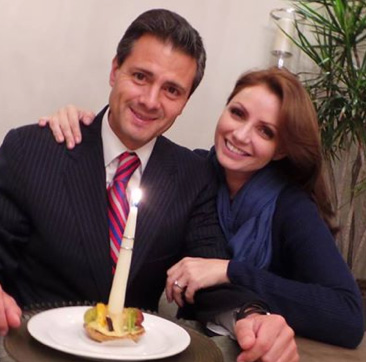 Angélica Rivera comparte el festejo de cumpleaños de Enrique Peña Nieto