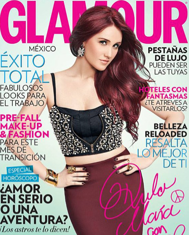 Dulce María en revista Glamour