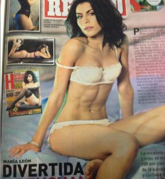 María León en revista H