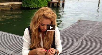 Paulina Rubio video mensaje