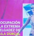 Extrema delgadez de Shaila Durcal