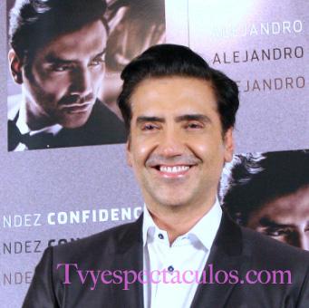 Alejandro Fernández interpretará el nuevo tema de Hasta el fin del mundo