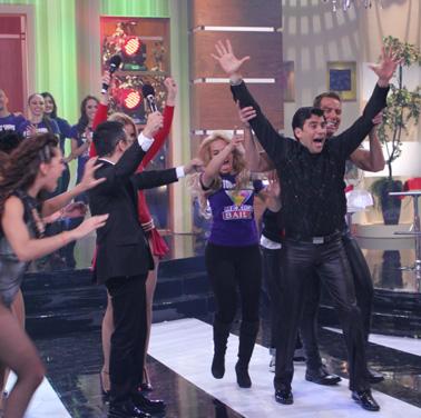 Mauricio Barcelata reto de baile Venga la alegría