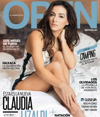 Portada Revista Open Claudia Lizaldi