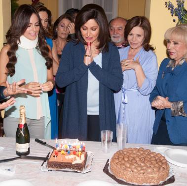 Daniela Romo festejó su cumpleaños