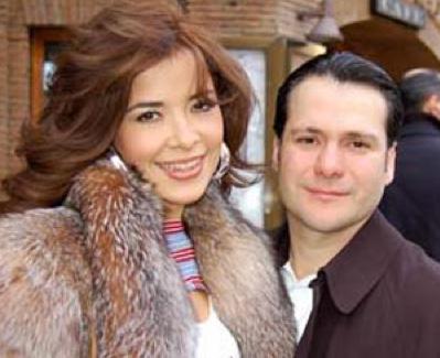 Gloria Trevi y su esposo