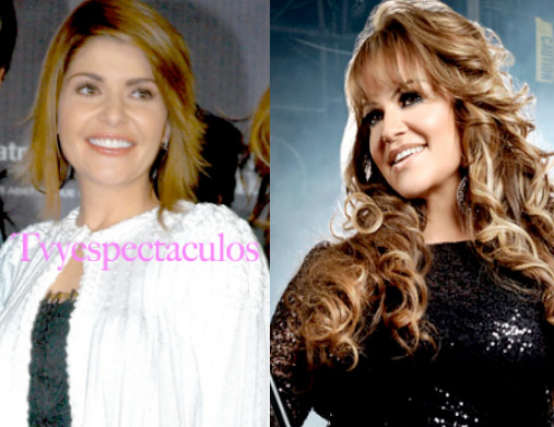 Itati Cantoral y Jenni Rivera