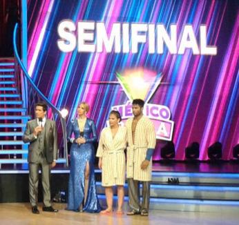 Niurka en semifinal de México Baila