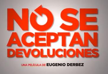 Estreno de No se aceptan devoluciones de Eugenio Derbez 20 de septiembre