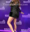 Paulina Rubio con kilos de más