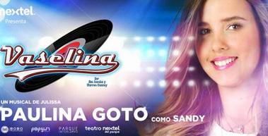 Paulina Gotto como Sandy en Vaselina