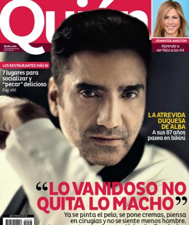 Alejandro Fernández en Revista Quién