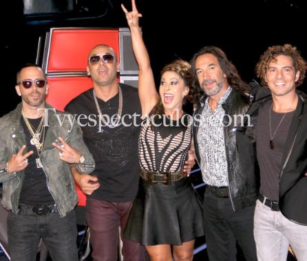 Presentan a los coaches de La Voz México 3