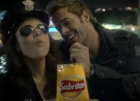 Comercial de Sabritas de William Levy