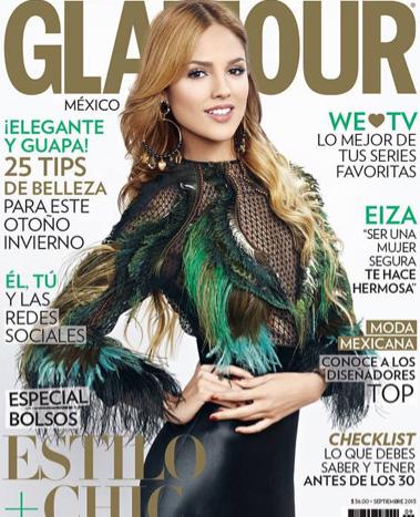 Eiza González en Glamour septiembre