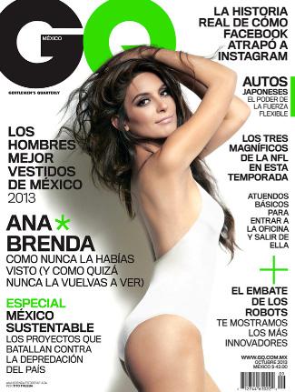 Ana Brenda Contreras en GQ