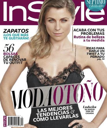 Ludwika Paleta en revista InStyle