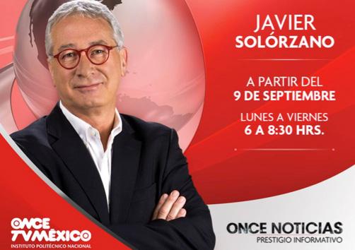 Javier Solórzano en Canal Once