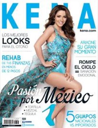 Revista Kena con Ariadne Díaz