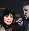 Lucia Mendez con Justin Timberlake