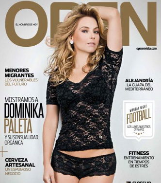 Dominika Paleta en Revista Open