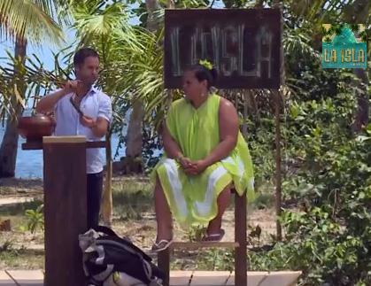 Vanessa Zambotti desterrada de La Isla