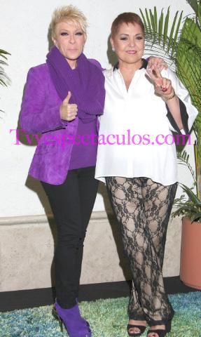 Yuri y Lupita D´alessio en Auditorio Nacional 5 de junio