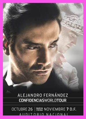 Alejandro Fernández en Auditorio Nacional 7 de noviembre
