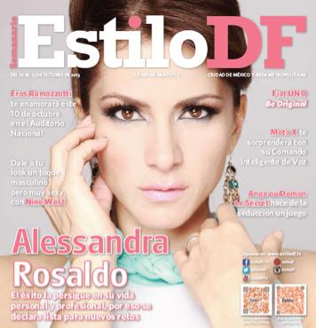 Alessandra Rosaldo en Revista estilo DF