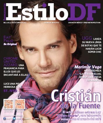 Cristián de la Fuente en revista Estilo DF