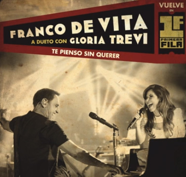 Escucha Te pienso sin querer de Franco De Vita con Gloria Trevi