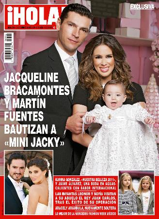 Bautizo de Mini Jacky en Revista HOLA