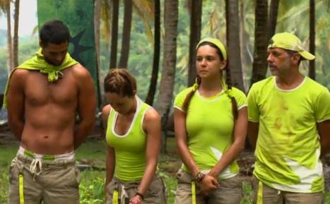 Equipo verde de La Isla