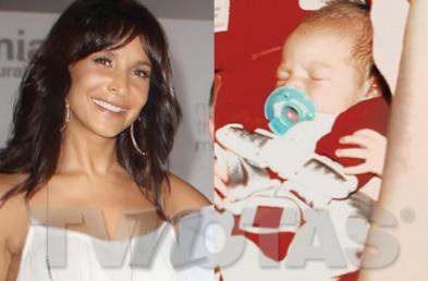 Lorena Rojas ya es mamá