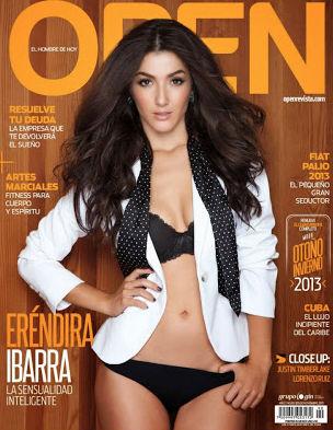 Erendira Ibarra en Revista Open
