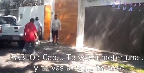Pablo Montero se pone violento con camarógrafo