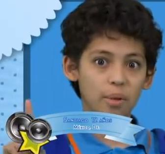 Santiago expulsado de La Academia Kids