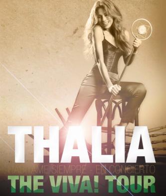 Thalía Viva Tour a la venta 12 de noviembre