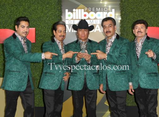 Los tigres del Norte en Premios Billboard