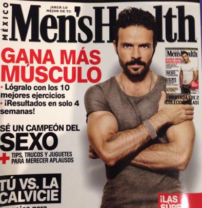 Chema Torre en Mens health méxico