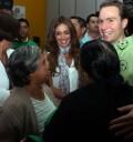 Anahí y Manuel Velasco en CRIT Chiapas